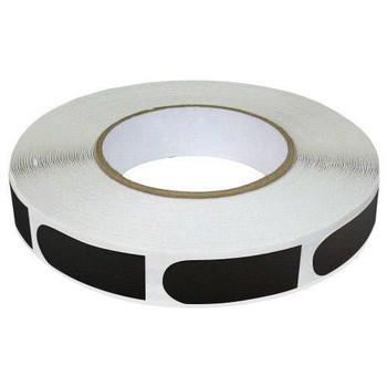 "Brunswick Black Smooth 3/4"" Bowling Tape - 250 Roll"