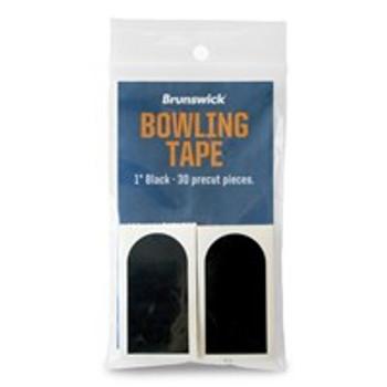 "Brunswick Black Smooth 1"" Bowling Tape"