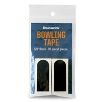 "Brunswick Black Smooth 3/4"" Bowling Tape"