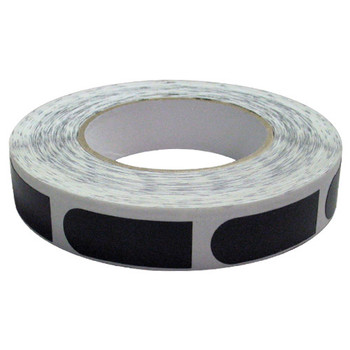 "PowerHouse Premium Black Smooth 3/4"" Bowling Tape - 500 Roll"