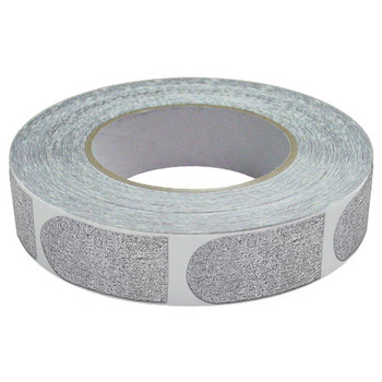 """The Real Bowler's Tape Silver Textured 1"""" Bowling Tape - 100 Pieces"""