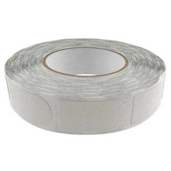 "Storm White Textured 3/4"" Bowling Tape - 500 Roll"