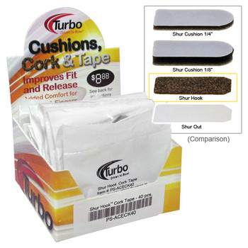 Turbo Shur Hook Cork - Box of 40