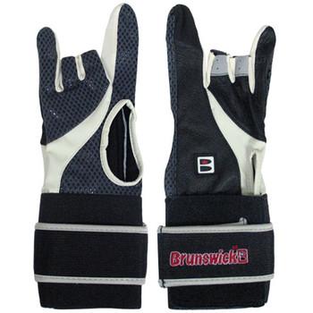 Brunswick Power XXX Bowling Glove - Black/Charcoal