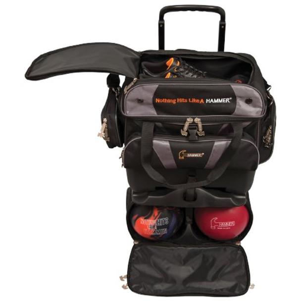 Hammer Premium 4 Ball Roller Black/Carbon Open