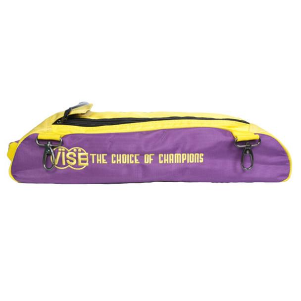 Vise Attachable Shoe Pouch Purple/Gold