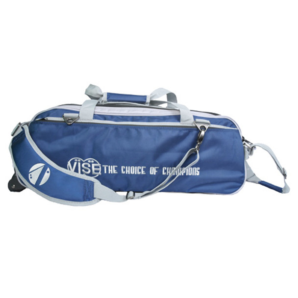 Vise 3 Ball Tote Roller Navy/Silver