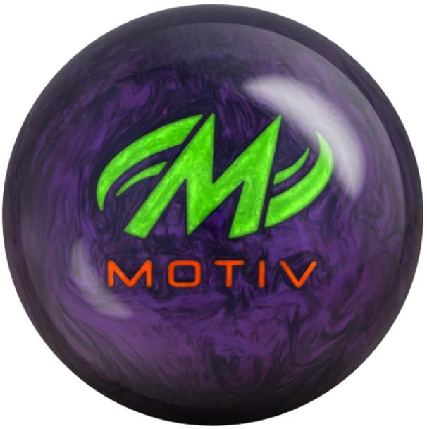 Motiv Venom Shock Pearl Bowling Ball - motiv logo