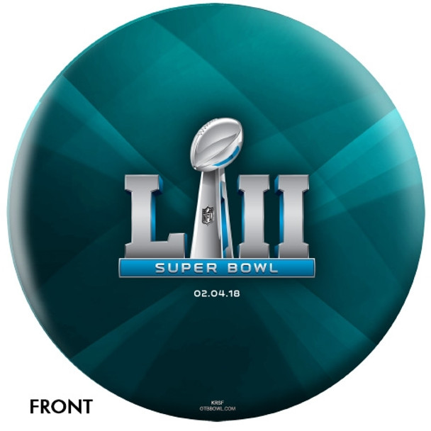 OTTB Philadelphia Eagles Bowling Ball Super Bowl 52 Champions front