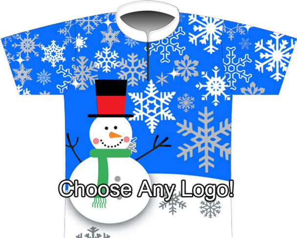 BBR Blue Snowman Sublimated Jersey