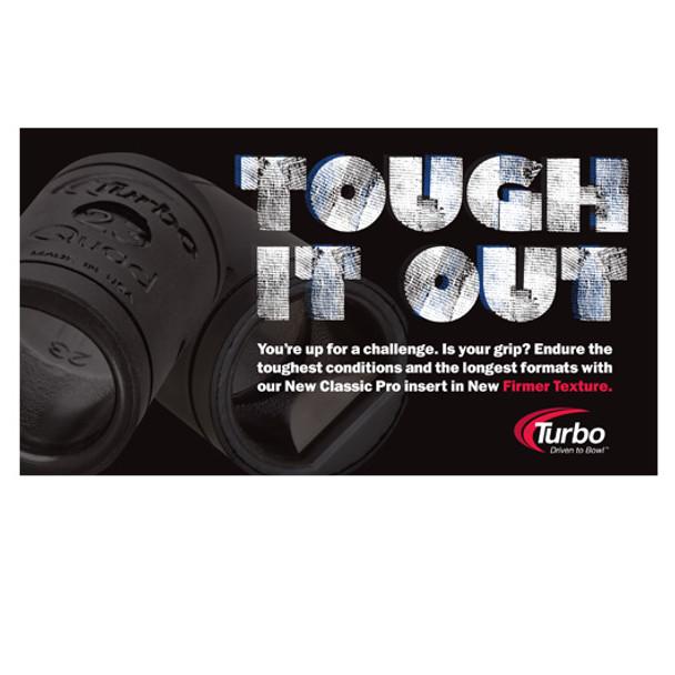 Turbo 2-N-1 Quad Classic PRO Vinyl Bowling Inserts - Advertisement