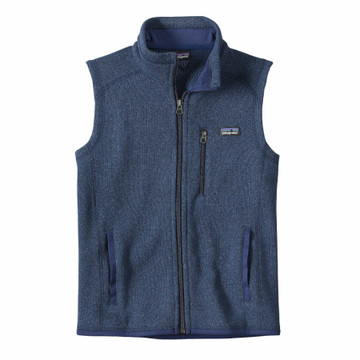 Patagonia Better Sweater Fleece Vest for Boys in Classic Navy