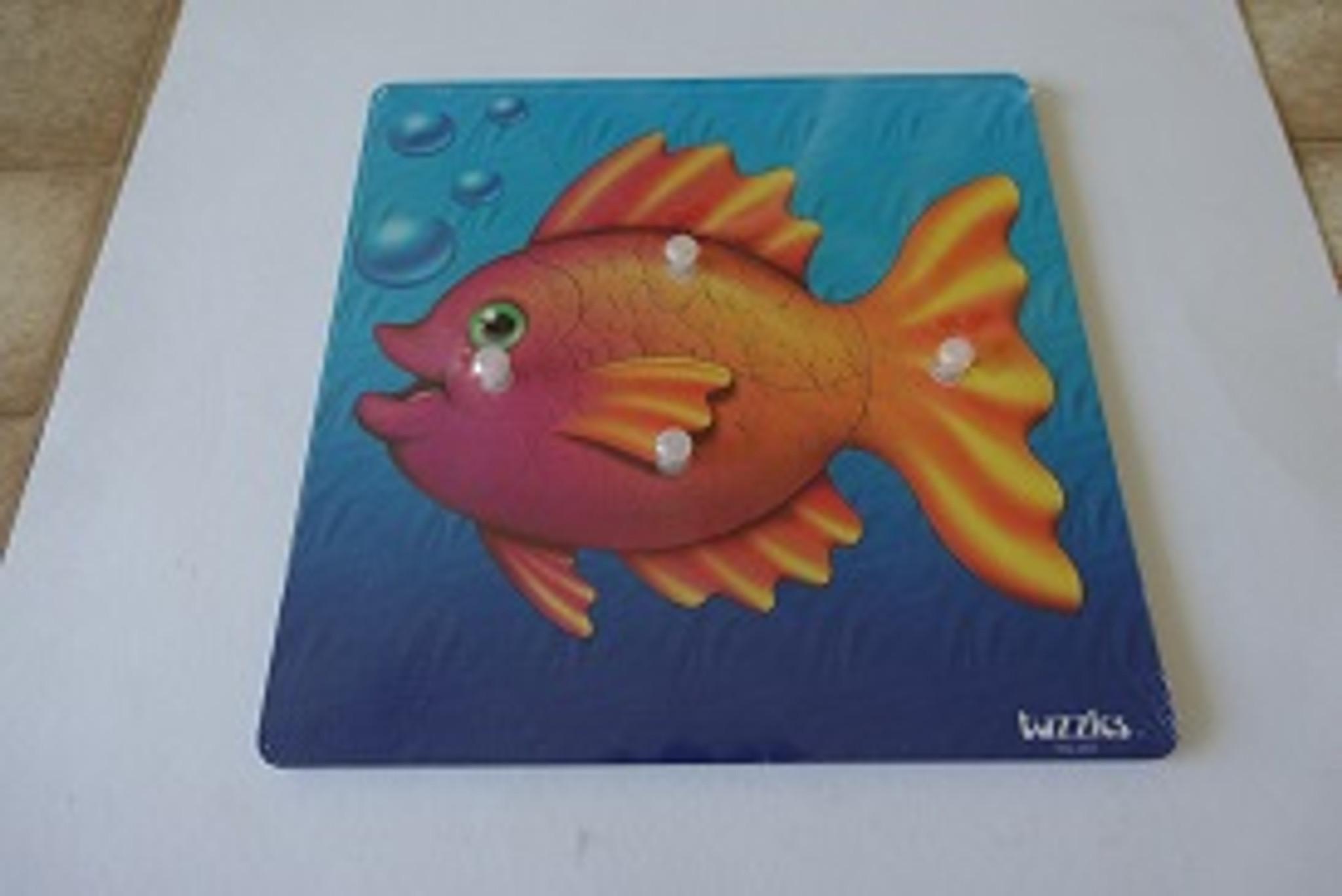Fish Knob puzzle 4 pce