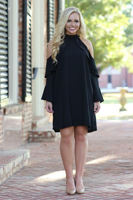 Stylish Little Black Dress: Black