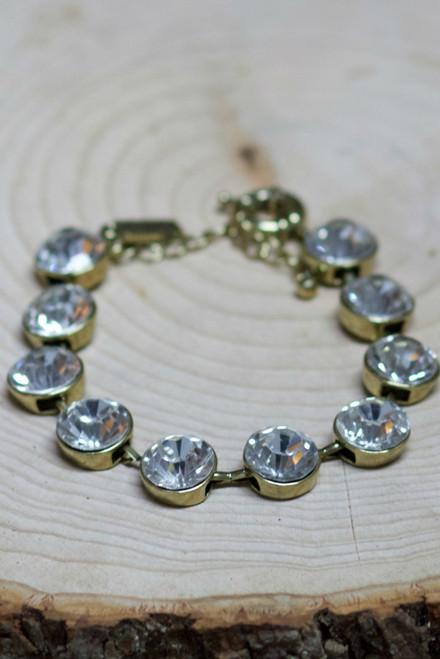 One Of A Kind Bracelet: Crystal