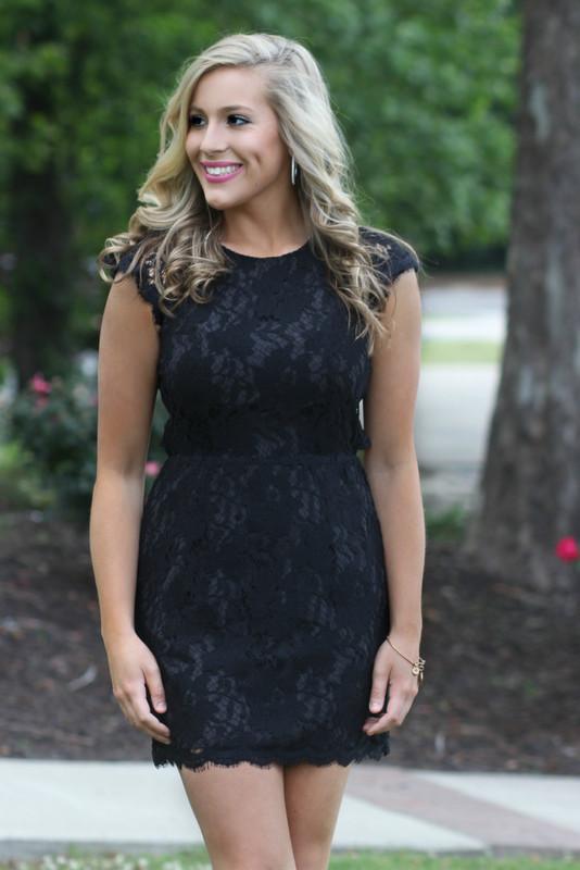 High Expectations Dress: Black