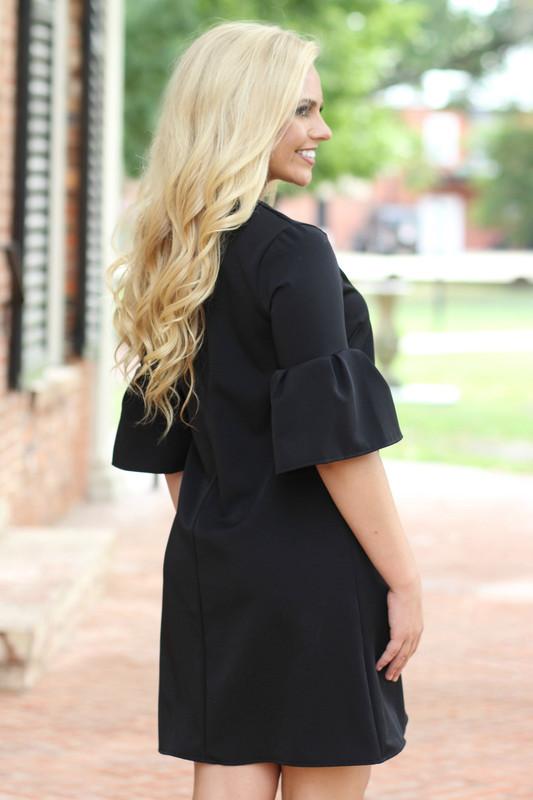 New Approach Dress: Black