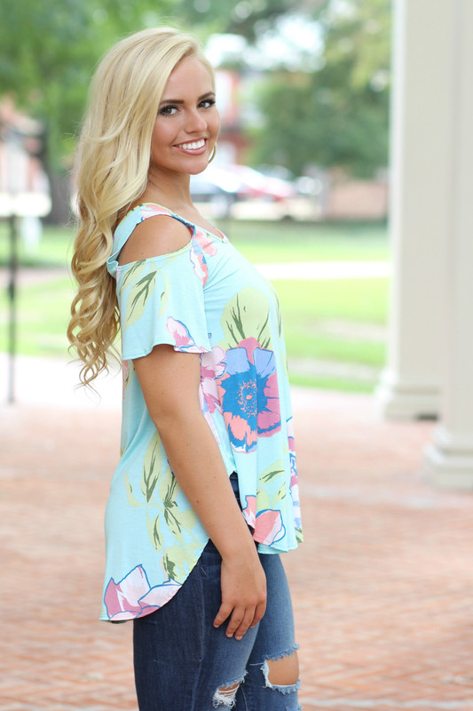 Spring Forward Top: Mint