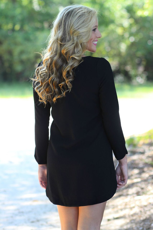 Out And About Dress: Black