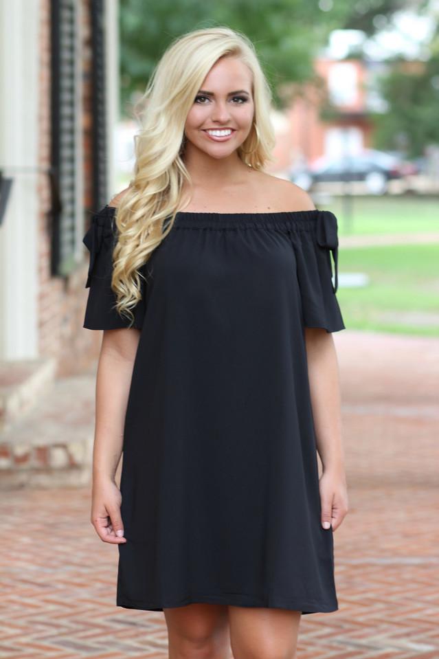 Better Together Dress: Black