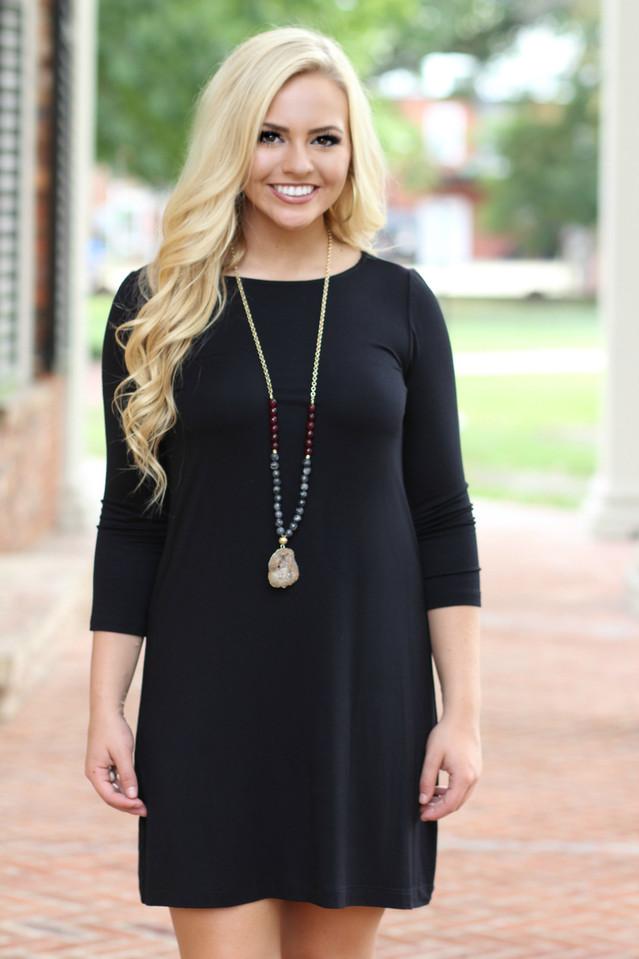 Everyday Dress: Black