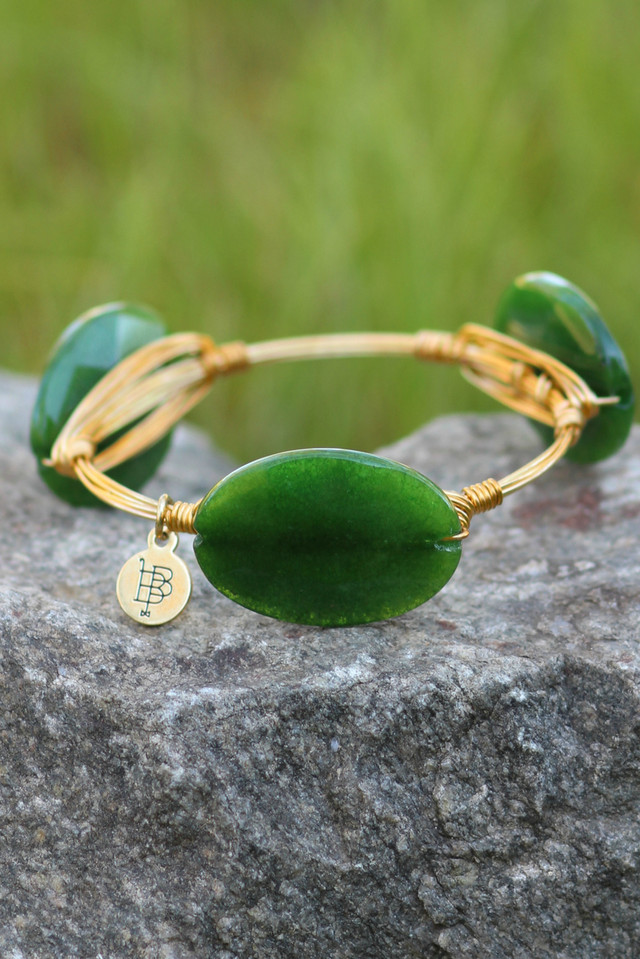 Bourbon And Boweties: Green Stone