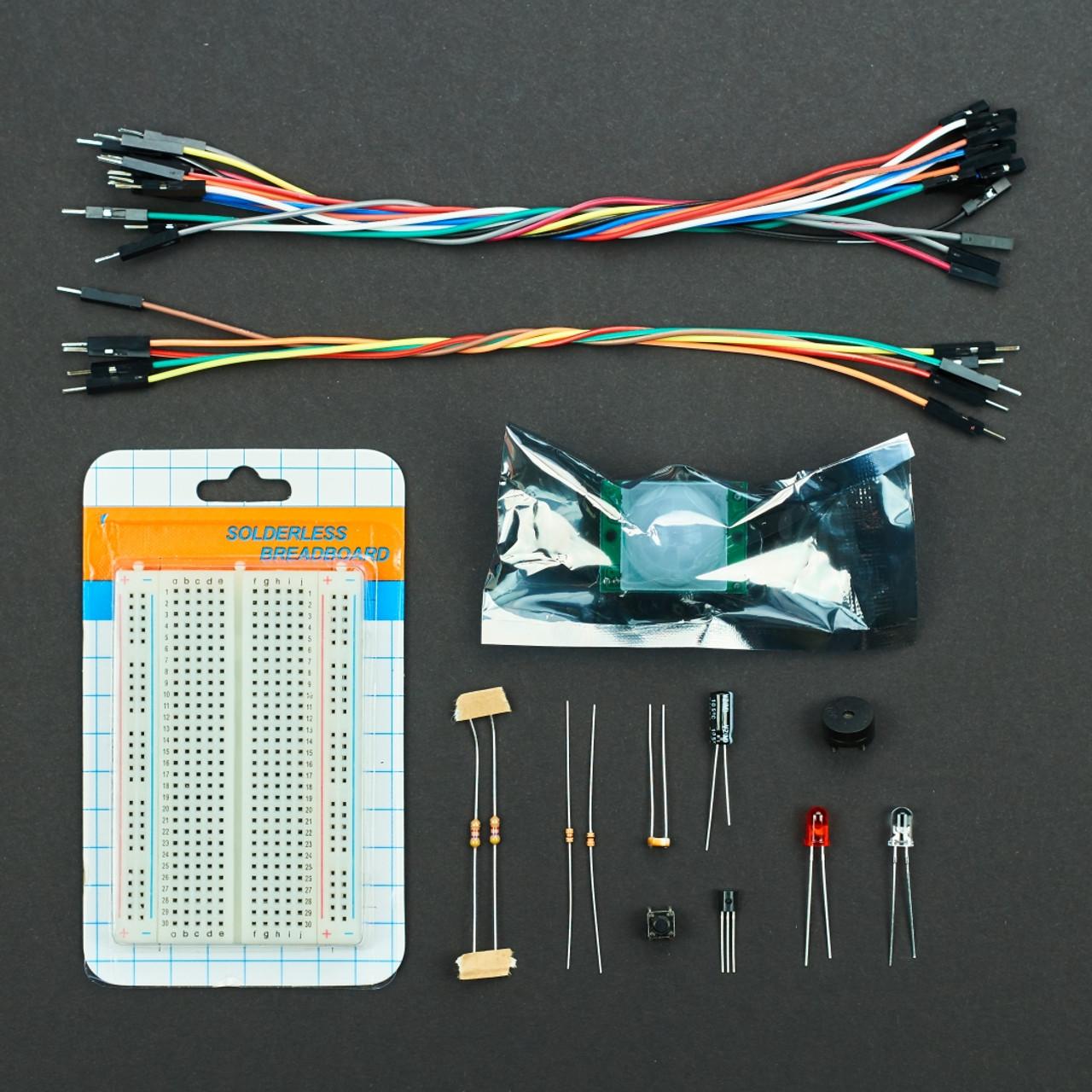 Raspberry Pi Youtube Workshop Kit Circuit Kits For Beginners