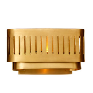 GA-002 TARYA WALL LAMP SMALL Gold - Full Brass