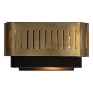 GA-002 - DAMAGED - TARYA WALL SMALL - Black (3 layers) & Brass - DA-417