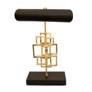 SE-002 - DAMAGED - SEDNA TABLE LAMP (R) -  MATT BRASS/BLACK -DA-426