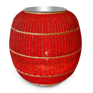 LUCIOLE Red Floor Lamp - Side view
