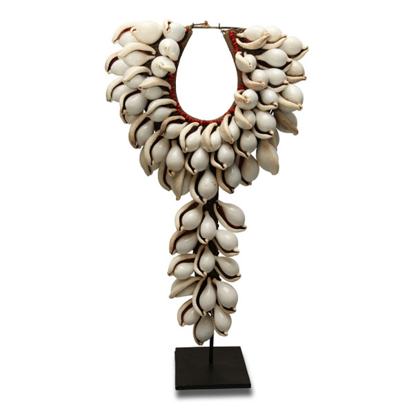 Necklace on stand- Front View
