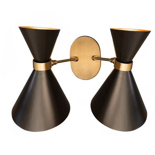 Gc 021 peggy up down twin wall lamp gong aloadofball Images