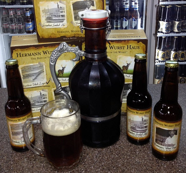 Hermann Wurst Haus Beer and Growler