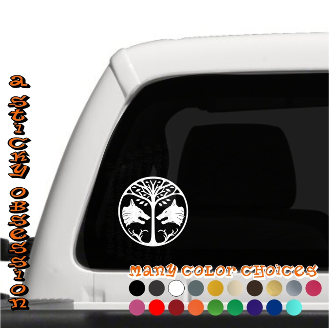 Destiny iron banner white decal on truck