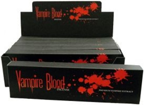 vampire blood incense 100 gram by devil s garden