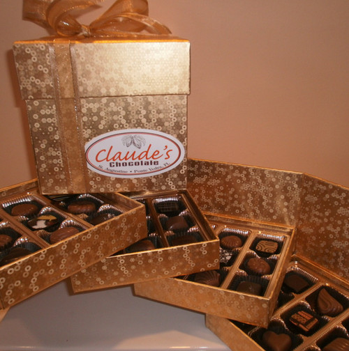 LIMITED EDITION 4-TIERED BONBON & TRUFFLE GIFT COLLECTION