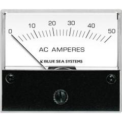 Blue Sea 9630 AC Analog Ammeter  0-50 Amperes AC [9630]