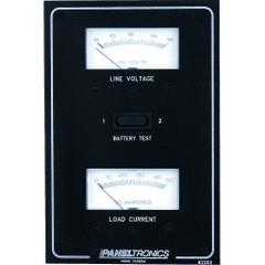Paneltronics Standard DC Meter Panel w/Voltmeter & Ammeter [9982202B]