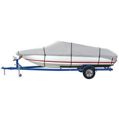 """Dallas Manufacturing Co. 600 Denier Grey Universal Boat Cover - Model E - Fits 20'-22' - Beam Width to 100"""" [BC3121E]"""