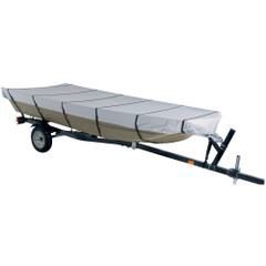 """Dallas Manufacturing Co. 300D Jon Boat Cover - Model B - Fits 14' w/Beam Width to 70"""" [BC21013B]"""