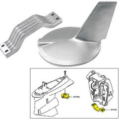 Tecnoseal Anode Kit w/Hardware - Yamaha 200-300HP Hi-Performance - Aluminum [21106AL]