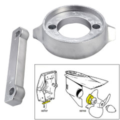 Tecnoseal Anode Kit w/Hardware - Volvo 280 - Aluminum [20701AL]