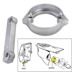 Tecnoseal Anode Kit w/Hardware - Volvo Duo-Prop 280 - Aluminum [20702AL]