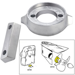 Tecnoseal Anode Kit w/Hardware - Volvo 290 - Zinc [20705]