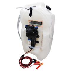 Jabsco Flat Tank Oil Changer System - 3-1/2 Gallon Tank - 12V [17860-2012]