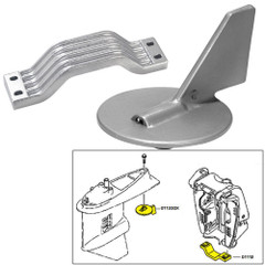 Tecnoseal Anode Kit w/Hardware - Yamaha 150-200HP - Magnesium [21101MG]