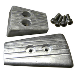 Tecnoseal Anode Kit - Volvo DPSA/SXA - Aluminum [20711AL]
