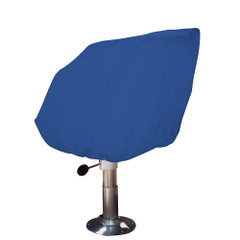 Taylor Made Helm/Bucket/Fixed Back Boat Seat Cover - Rip/Stop Polyester Navy [80230]