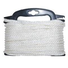 """Attwood Braided Nylon Rope - 3/16"""" x 100' - White [117553-7]"""
